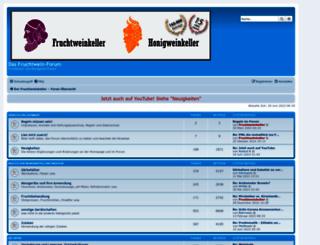 forum.fruchtweinkeller.de screenshot