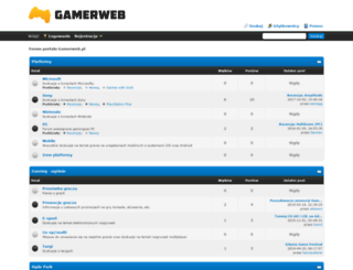 forum.gamerweb.pl screenshot