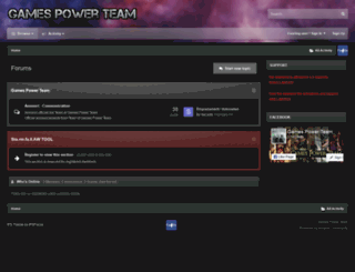 forum.gamespowerita.com screenshot