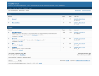 forum.getfiregpg.org screenshot