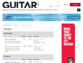 forum.guitar.com screenshot