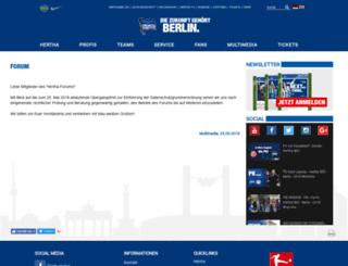 forum.herthabsc.de screenshot