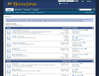 forum.hexera.net screenshot