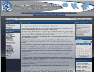 forum.hockey-manager.com screenshot