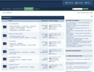 forum.homemedia.fr screenshot