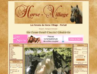 forum.horse-village.com screenshot