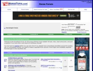 forum.horsetopia.com screenshot