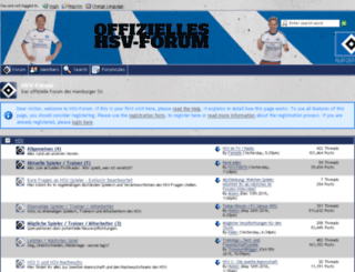forum.hsv.de screenshot