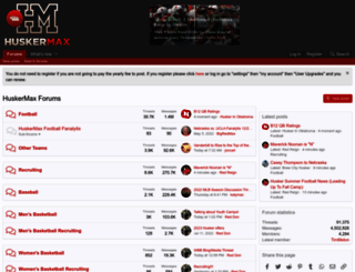 forum.huskermax.com screenshot