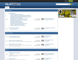 forum.idg.pl screenshot