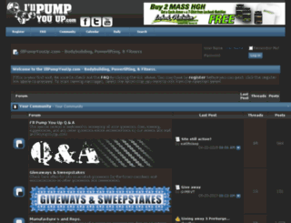forum.illpumpyouup.com screenshot