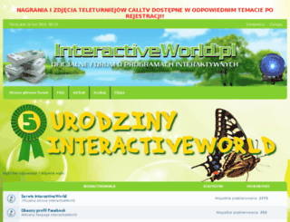forum.interactiveworld.pl screenshot