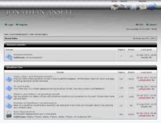 forum.jonathanansell.com screenshot