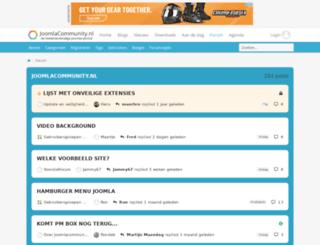 forum.joomlacommunity.eu screenshot