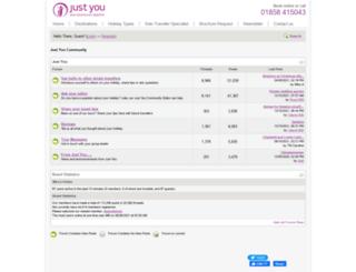 forum.justyou.co.uk screenshot