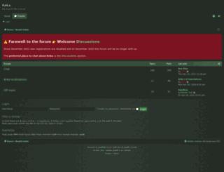 forum.kekaosx.com screenshot