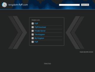 forum.kingdom-flyff.com screenshot