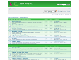 forum.laptop.org screenshot