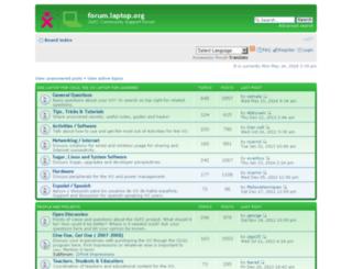 forum.laptop.org screenshot
