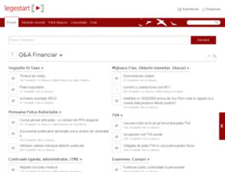 forum.legestart.ro screenshot