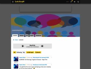 forum.letssingit.com screenshot