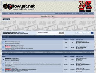 forum.lowyat.net screenshot
