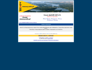 forum.mazury.info.pl screenshot