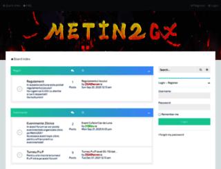 forum.metin2gx.ro screenshot
