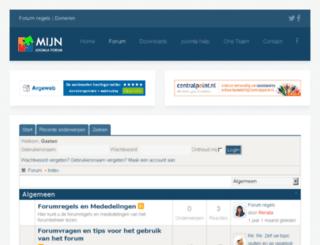 forum.mijnjoomlaforum.nl screenshot