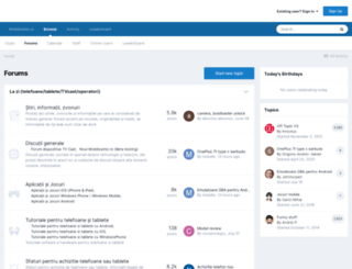 forum.mobilissimo.ro screenshot