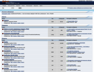 forum.mozilla-russia.org screenshot