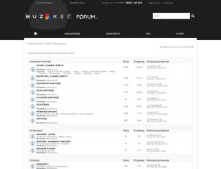 forum.muziker.sk screenshot
