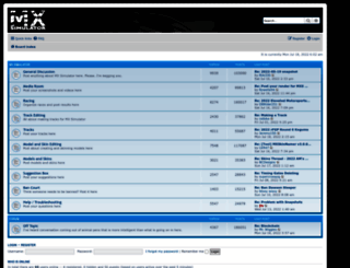 forum.mxsimulator.com screenshot