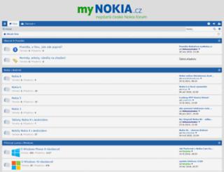 forum.mynokia.cz screenshot