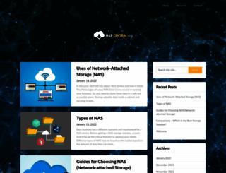 forum.nas-central.org screenshot