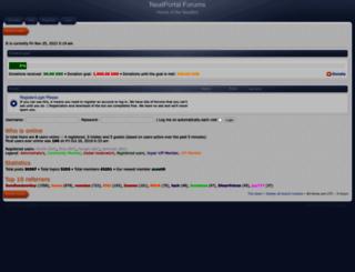 forum.neatportal.com screenshot