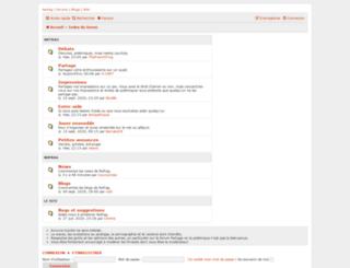 forum.nofrag.com screenshot