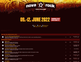 forum.novarock.at screenshot