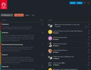 forum.novatech.co.uk screenshot