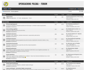 forum.opencaching.pl screenshot