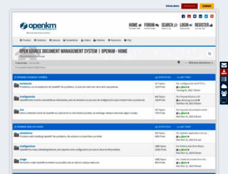forum.openkm.com screenshot