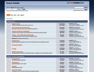 forum.orisinil.com screenshot