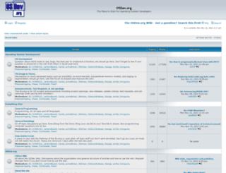 forum.osdev.org screenshot