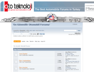 forum.ototeknoloji.com screenshot