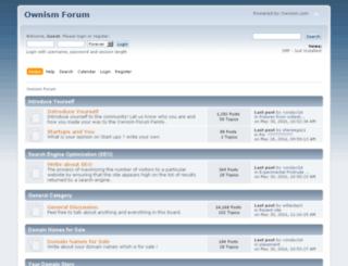 forum.ownism.com screenshot