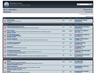 forum.palemoon.org screenshot