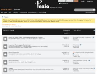forum.paziashop.com screenshot