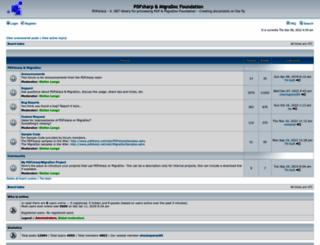 forum.pdfsharp.com screenshot