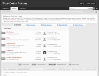 forum.pixelcoins.ga screenshot