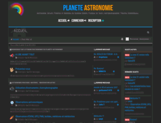 forum.planete-astronomie.com screenshot